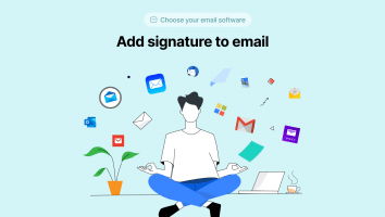 Add signature to email