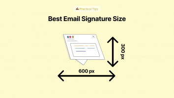 Best Email Signature Size