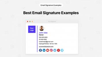 Best Email Signature Examples