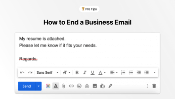 How to End a Business Email