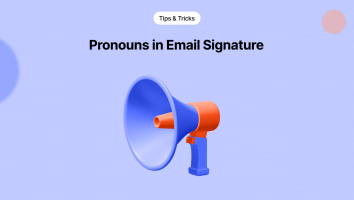 Pronouns in Email Signature