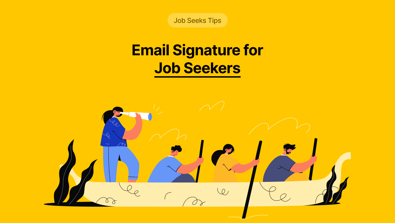 Email Signature for Job Seekers