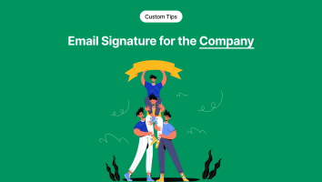 Email Signature for the Company